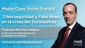 Francisco Martínez Vázquez, Ex Secretario de Estado de Seguridad y Ex Diputado en el Congreso